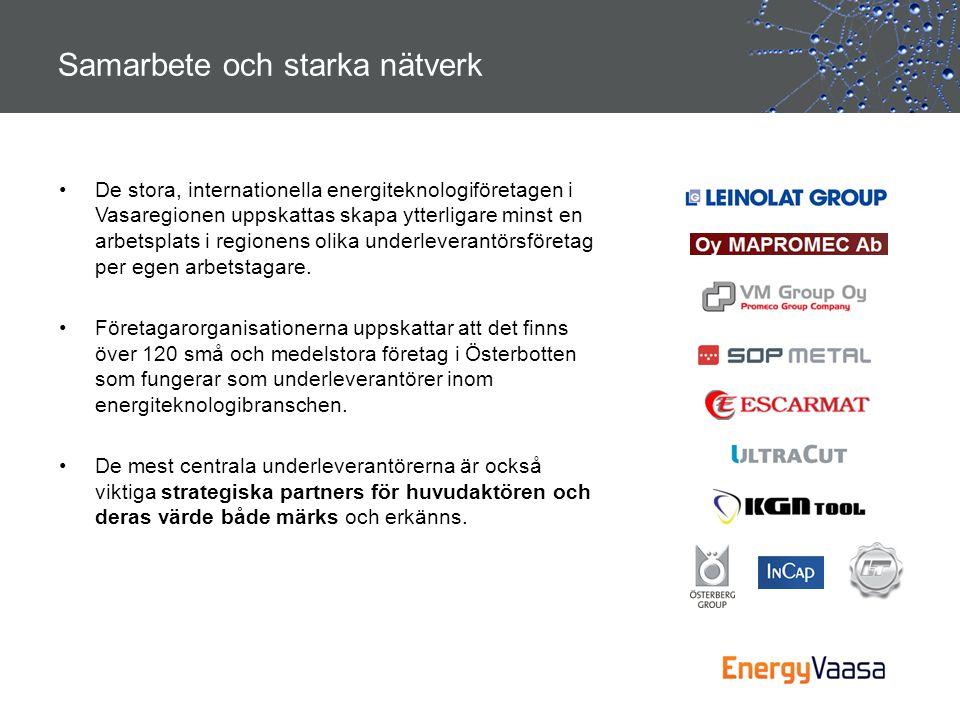 Samarbete och starka nätverk