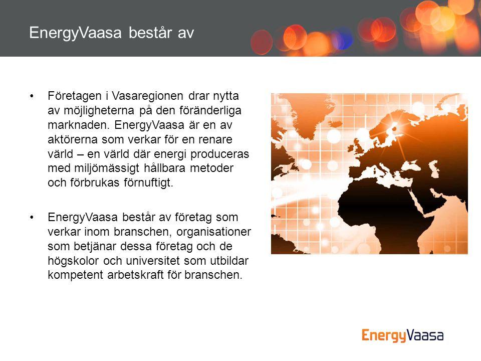 EnergyVaasa består av