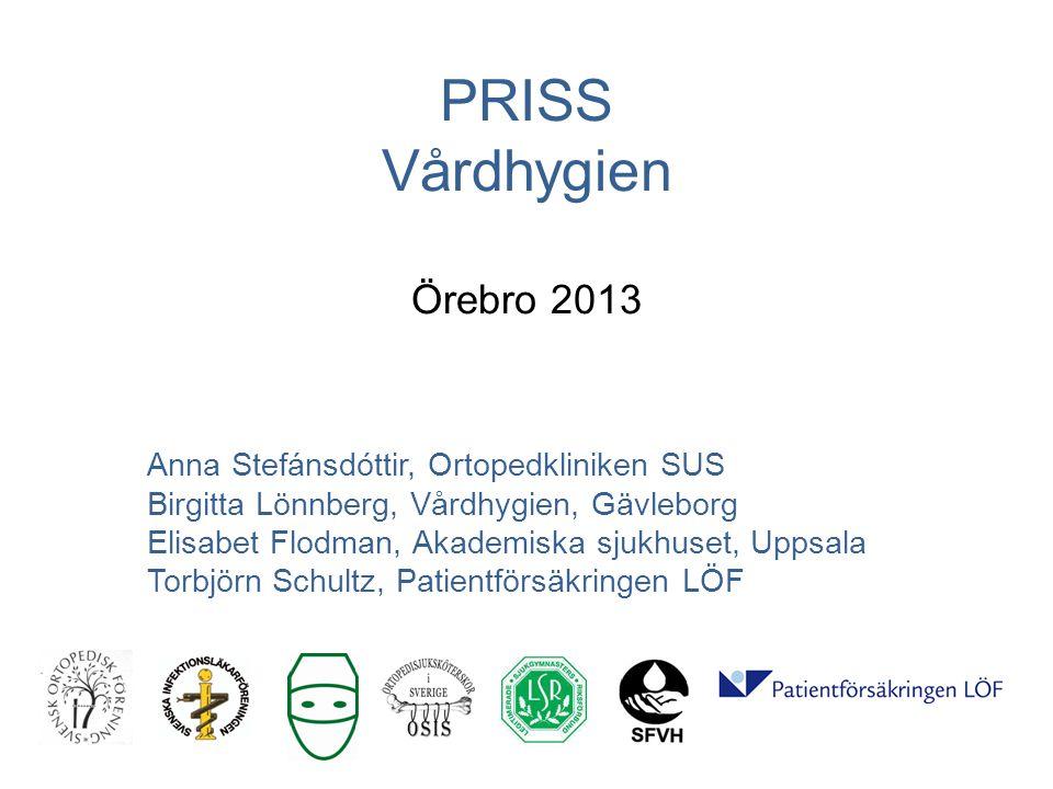 PRISS Vårdhygien Örebro 2013