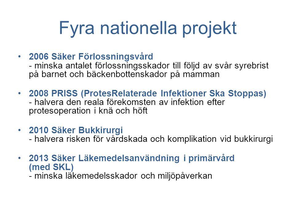Fyra nationella projekt