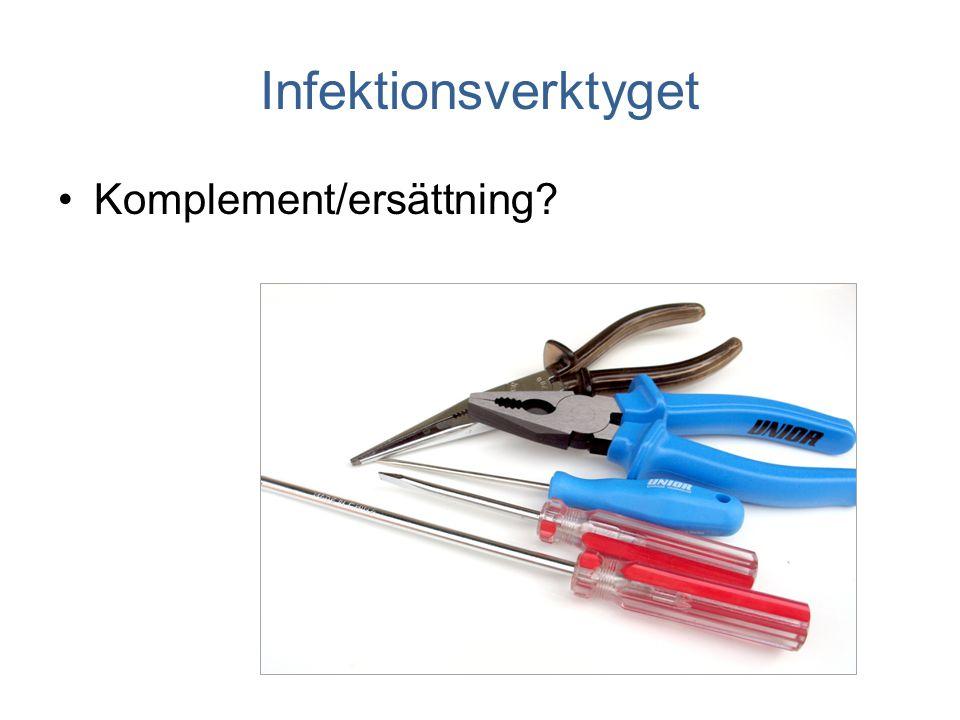 Infektionsverktyget Komplement/ersättning