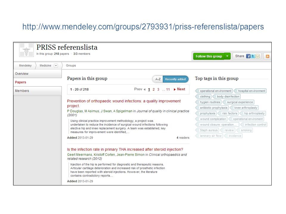 http://www.mendeley.com/groups/2793931/priss-referenslista/papers