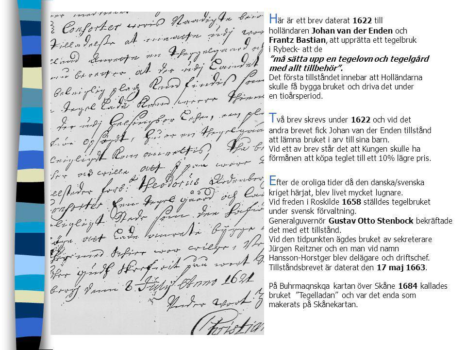 Här är ett brev daterat 1622 till