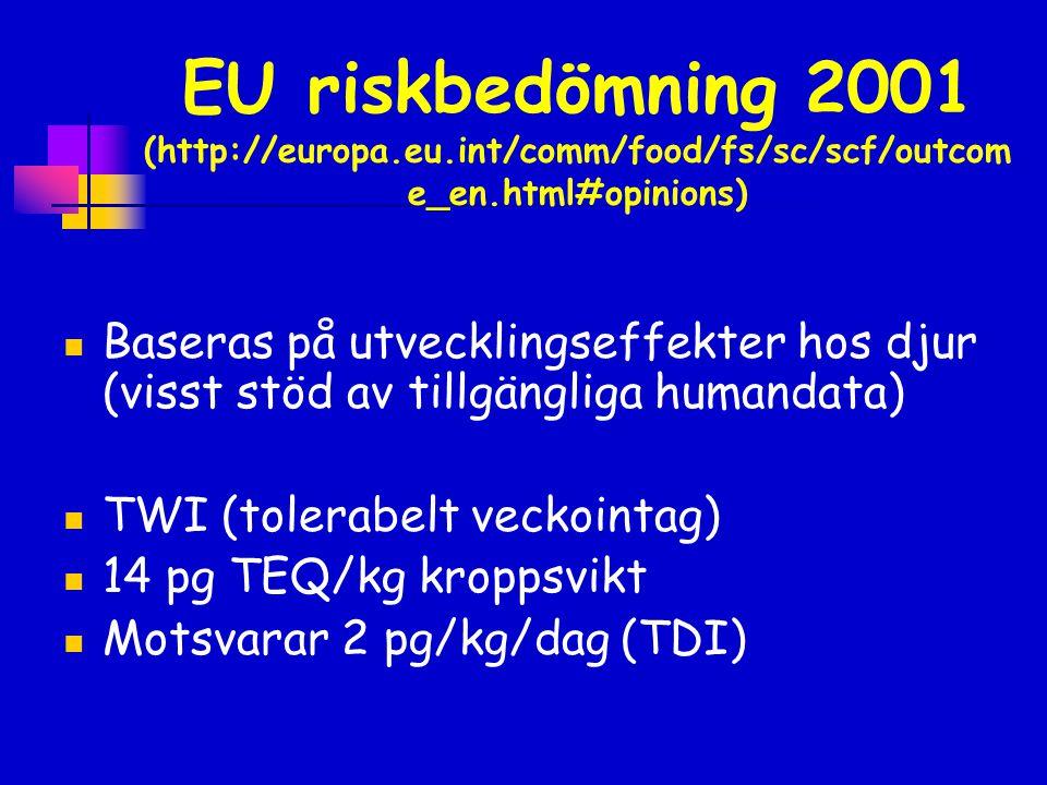EU riskbedömning 2001 (http://europa. eu
