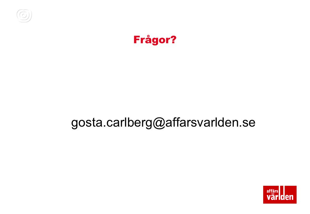 Frågor gosta.carlberg@affarsvarlden.se