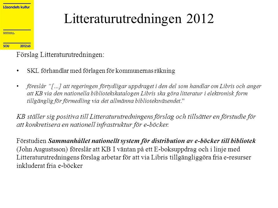 Litteraturutredningen 2012
