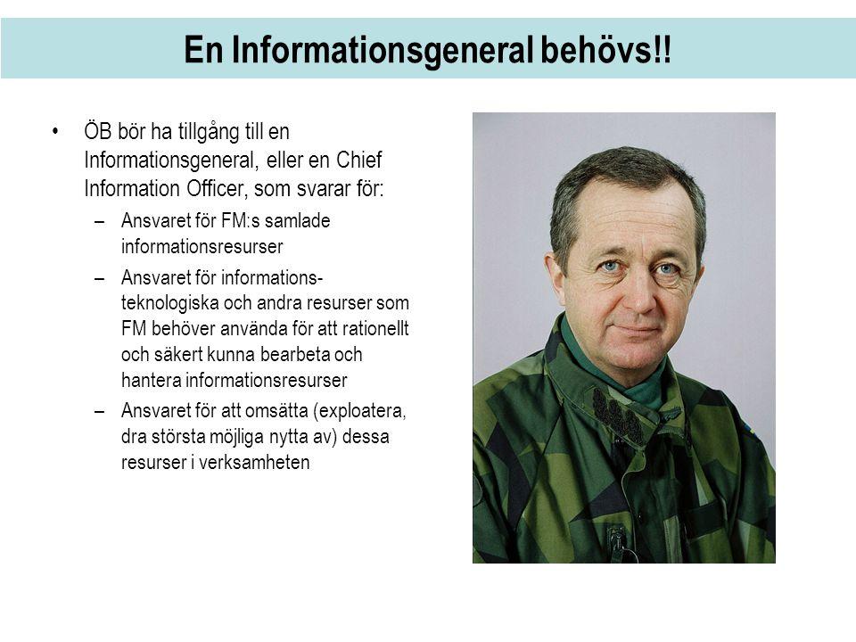En Informationsgeneral behövs!!