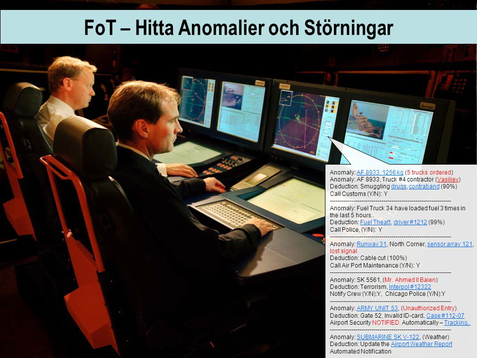 FoT – Hitta Anomalier och Störningar
