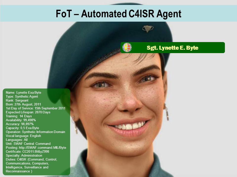 FoT – Automated C4ISR Agent