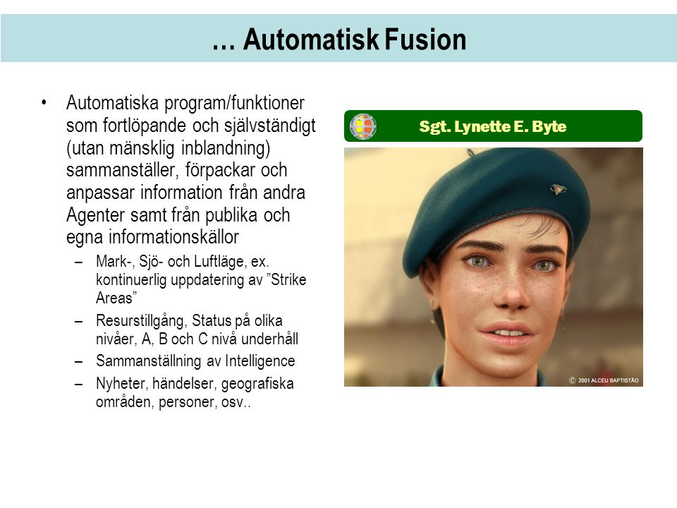 … Automatisk Fusion