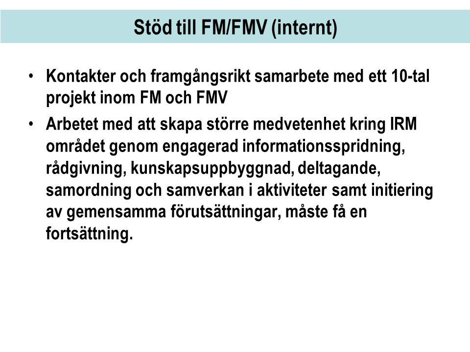 Stöd till FM/FMV (internt)