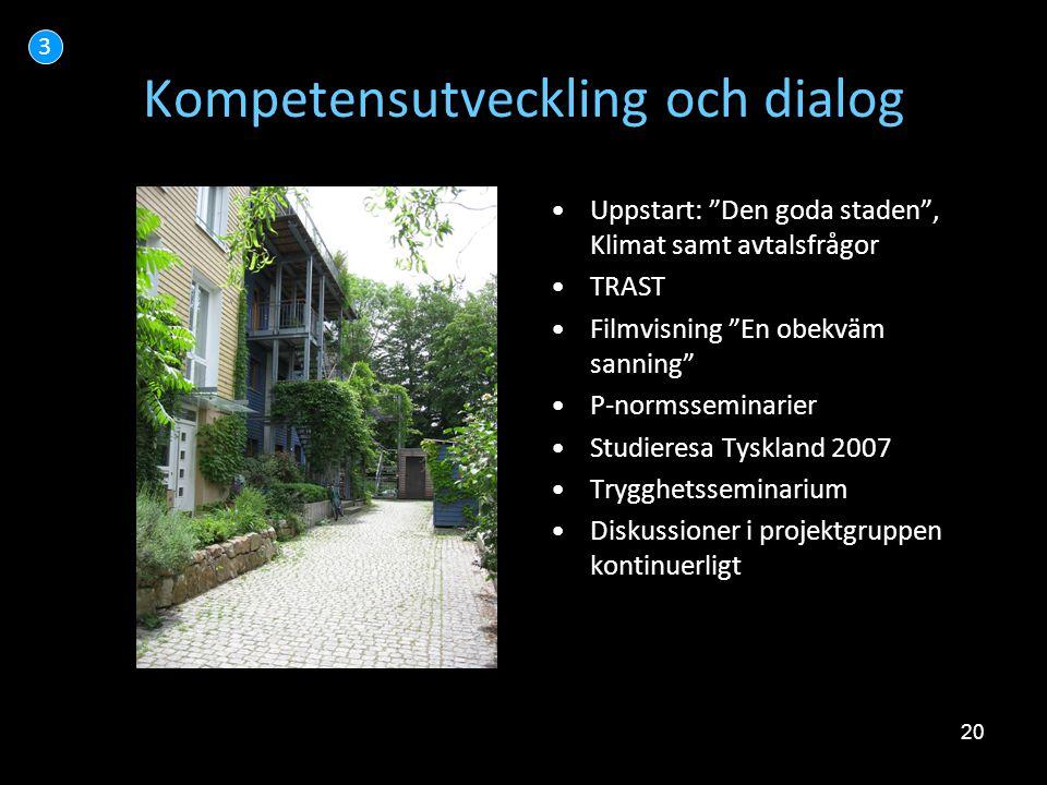 Kompetensutveckling och dialog