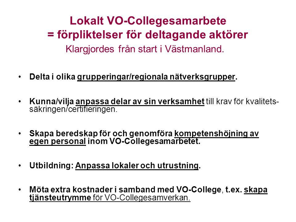 Lokalt VO-Collegesamarbete