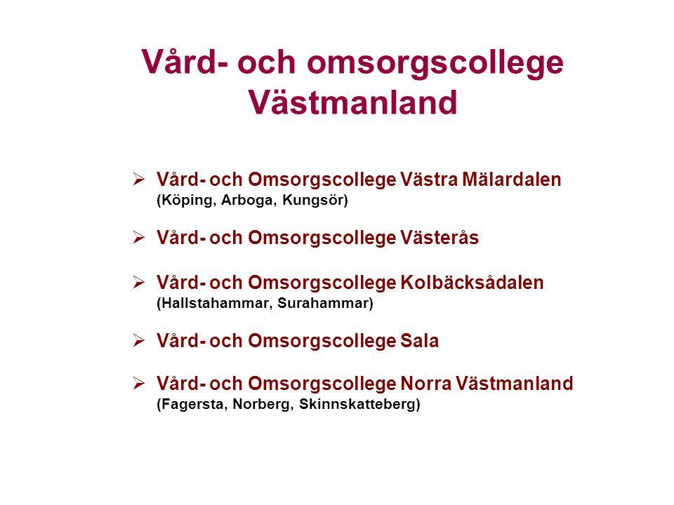 Vård- och omsorgscollege Västmanland