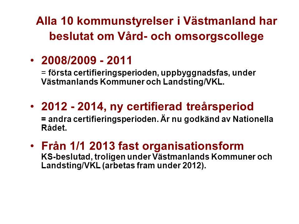 Alla 10 kommunstyrelser i Västmanland har