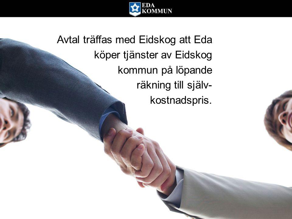 Avtal träffas med Eidskog att Eda