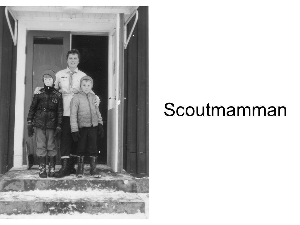 Scoutmamman