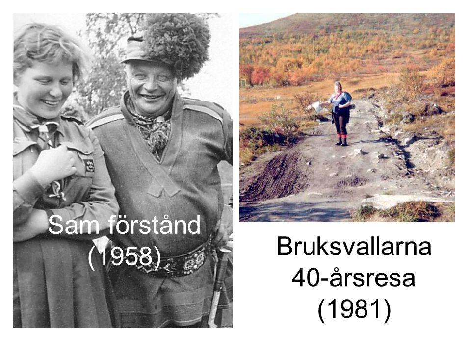 Bruksvallarna 40-årsresa (1981)