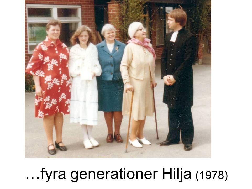 …fyra generationer Hilja (1978)