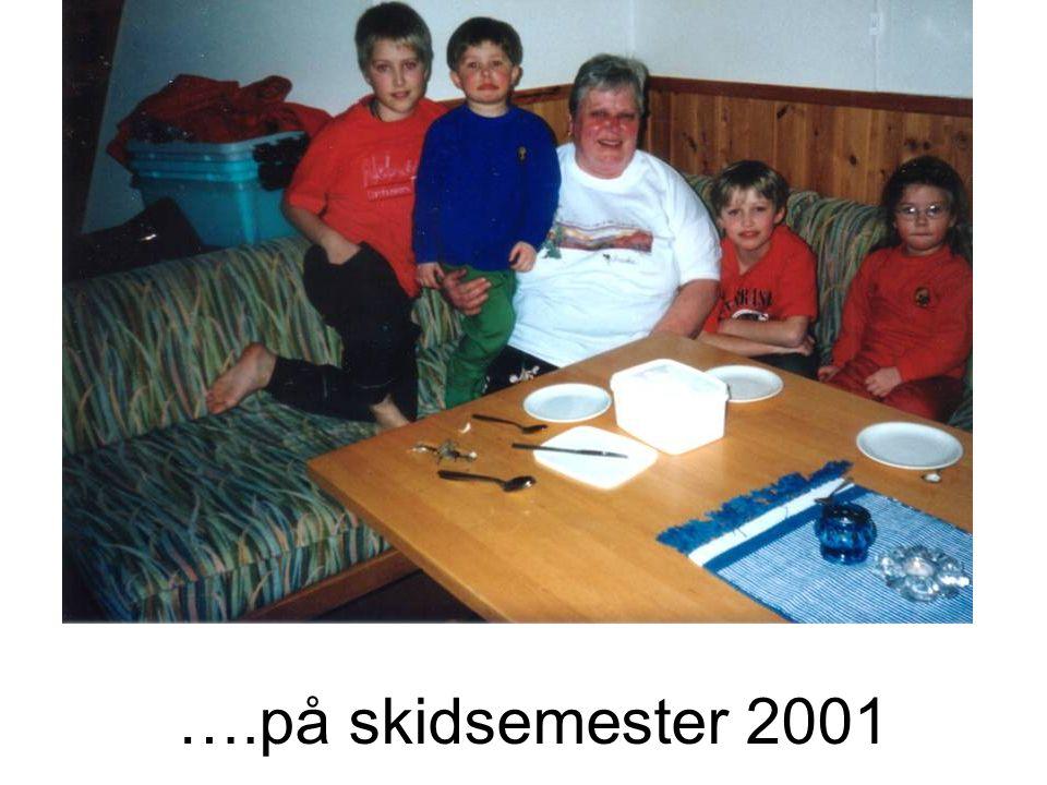 ….på skidsemester 2001