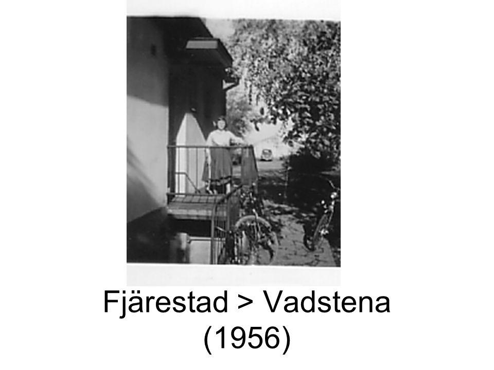 Fjärestad > Vadstena (1956)