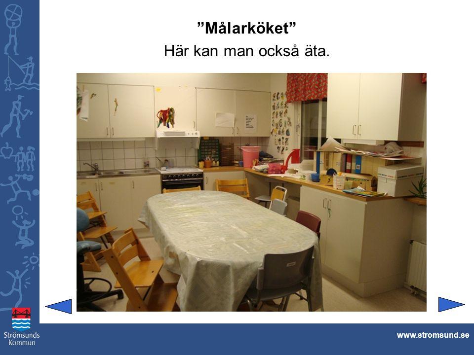 Målarköket Här kan man också äta. www.stromsund.se