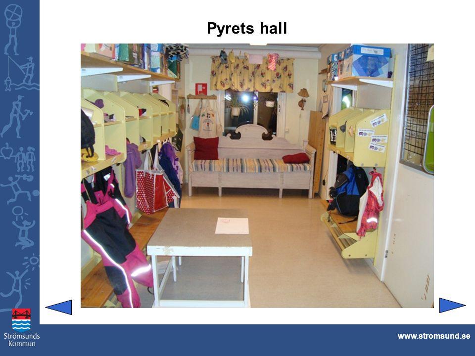 Pyrets hall www.stromsund.se