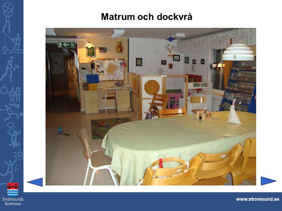 Matrum och dockvrå www.stromsund.se