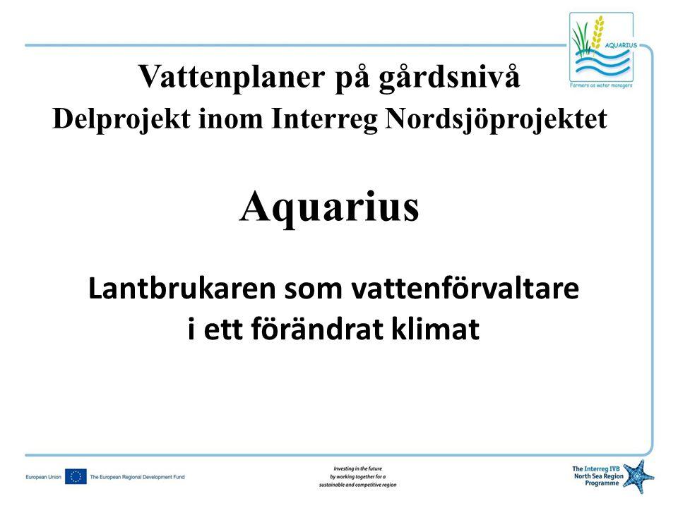 Aquarius Vattenplaner på gårdsnivå