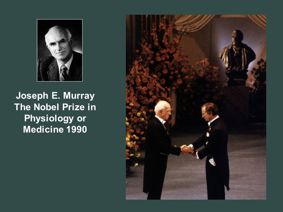 The Nobel Prize in Physiology or Medicine 1990