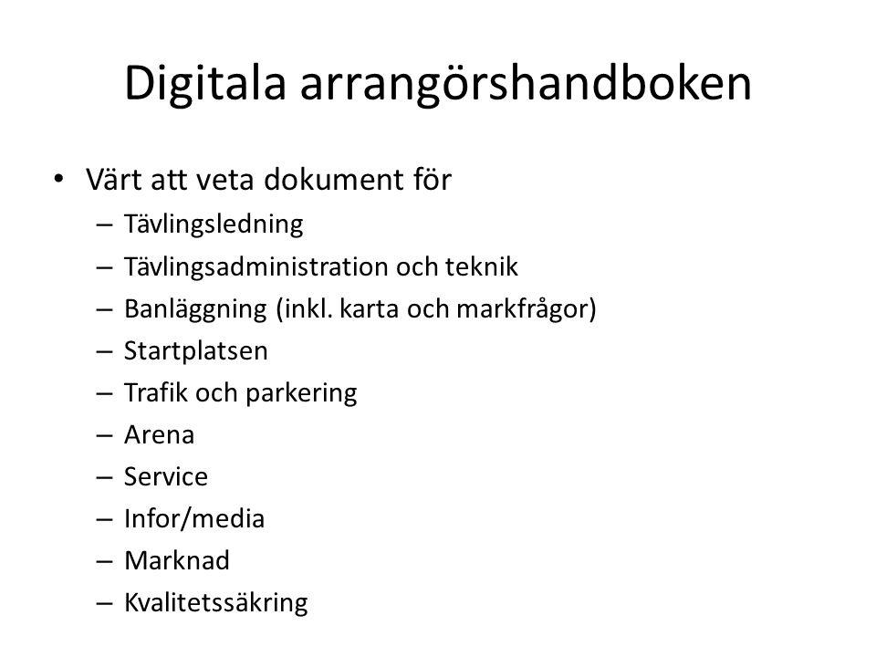 Digitala arrangörshandboken