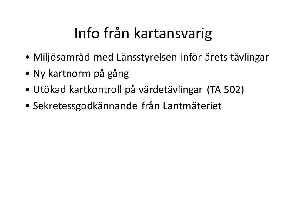 Info från kartansvarig