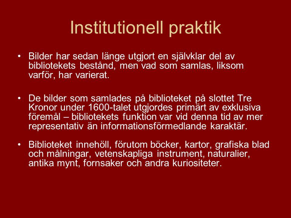 Institutionell praktik