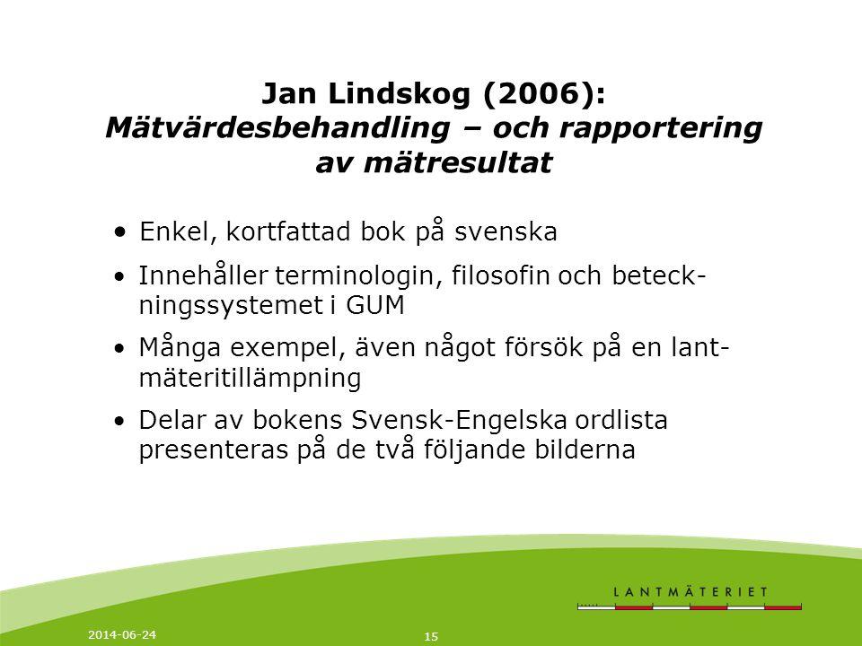 Enkel, kortfattad bok på svenska