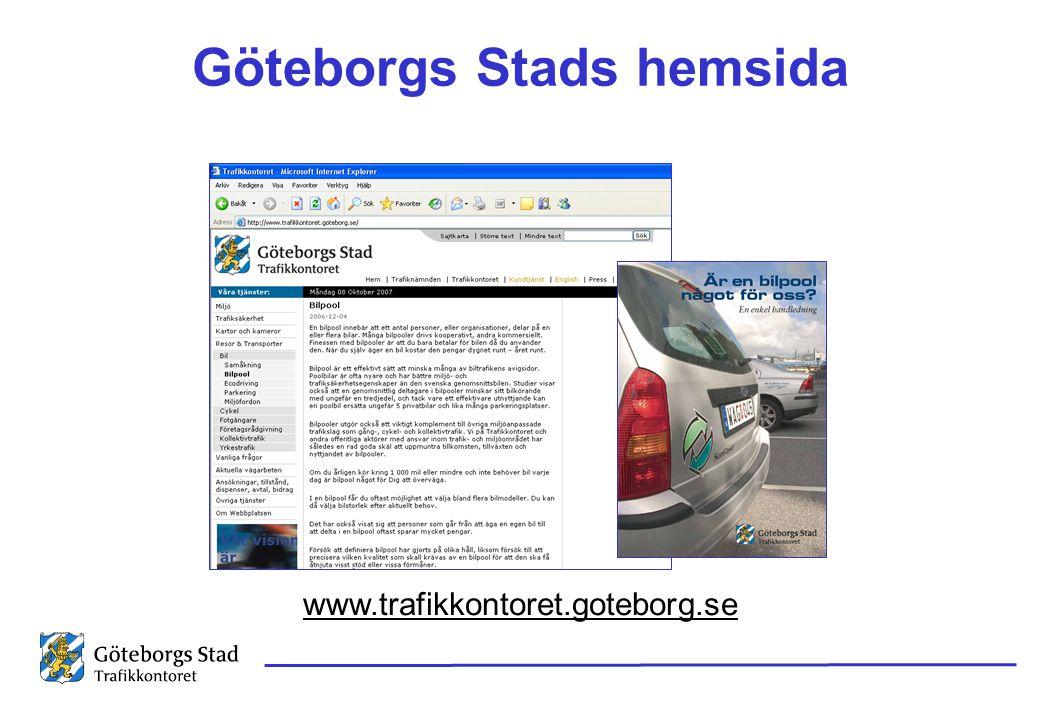 Göteborgs Stads hemsida