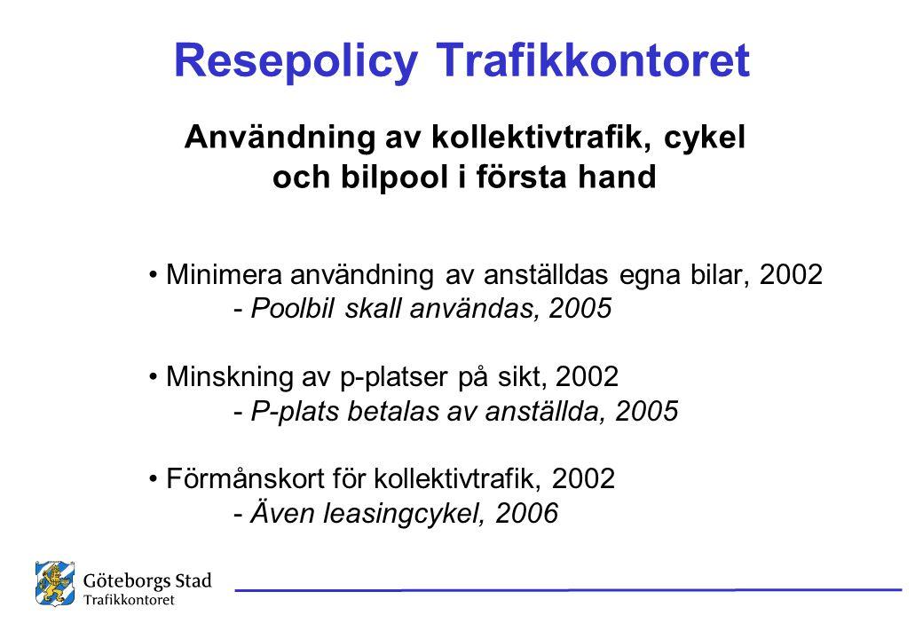 Resepolicy Trafikkontoret