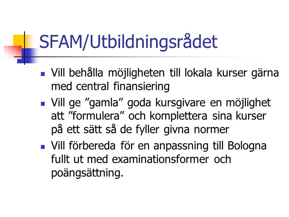 SFAM/Utbildningsrådet