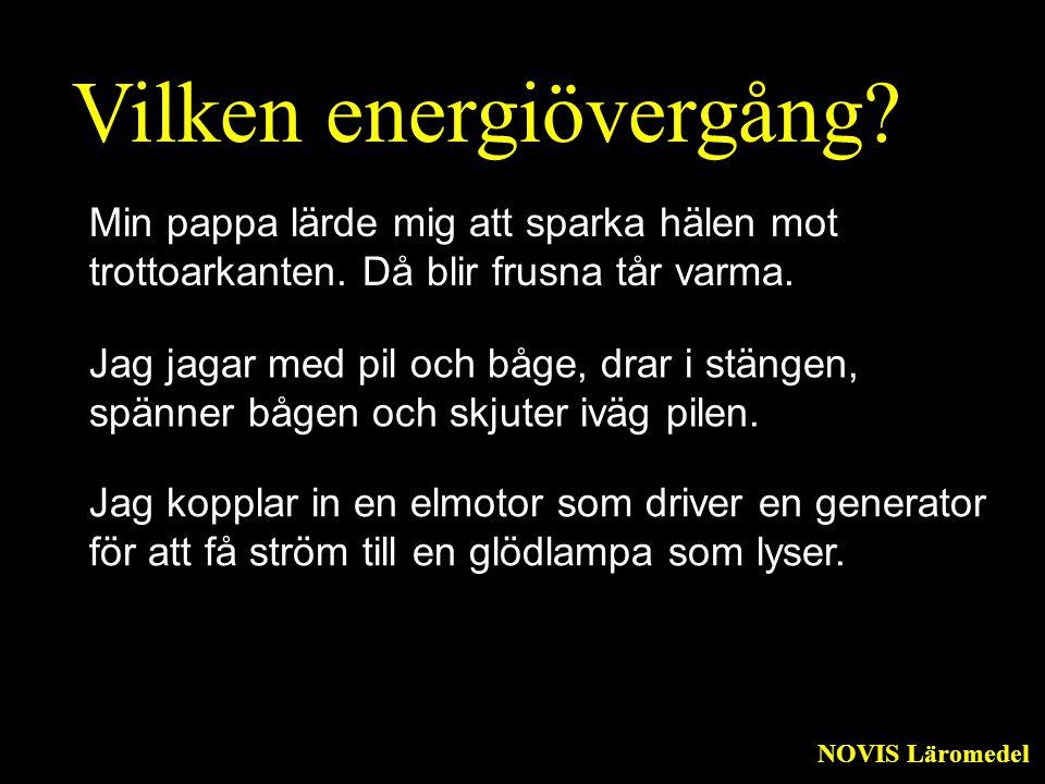 Vilken energiövergång