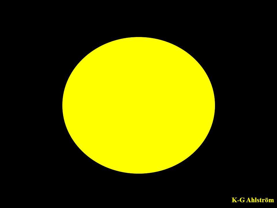 Bilden av en cirkel i stillhet får symbolisera bristen på energi.
