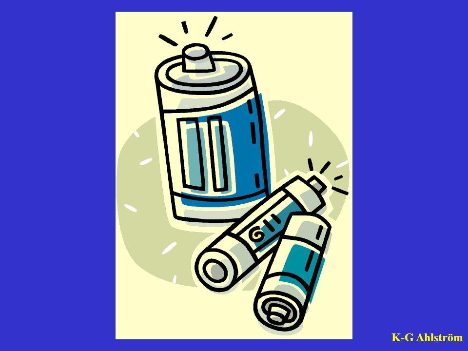 Kemisk energi kan lagras, som i batterier, födoämnen, bio- och fossila bränslen.