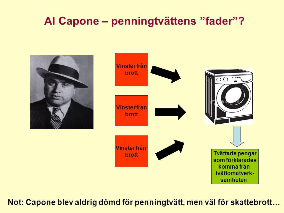 Al Capone – penningtvättens fader