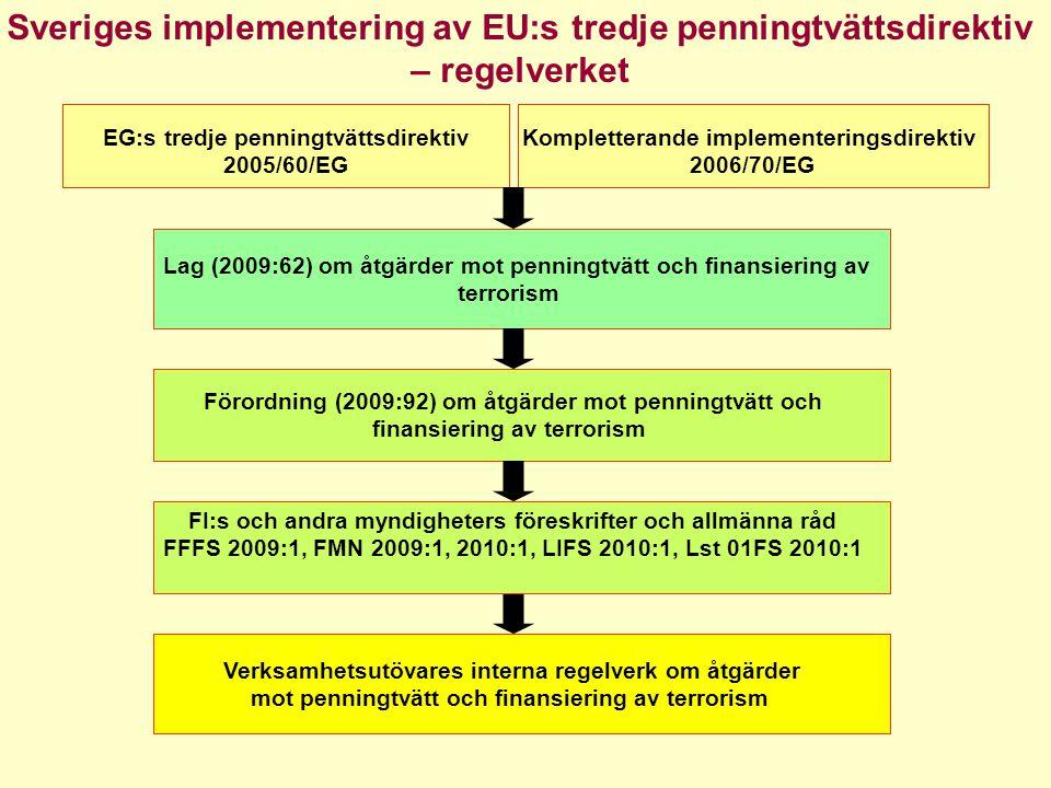 Kompletterande implementeringsdirektiv