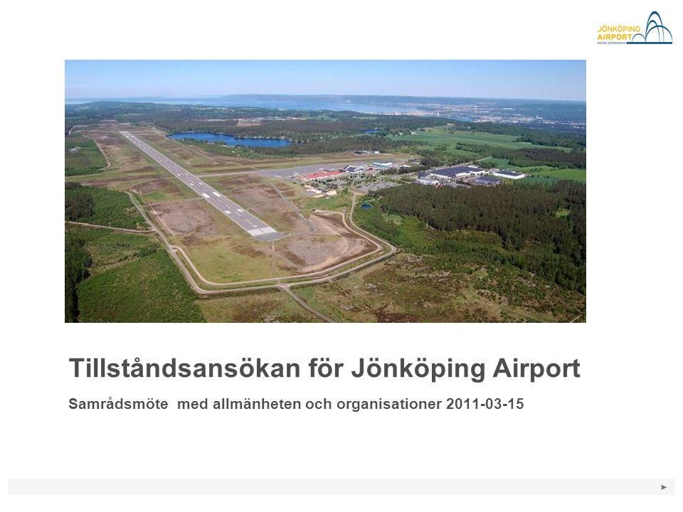 Tillståndsansökan för Jönköping Airport