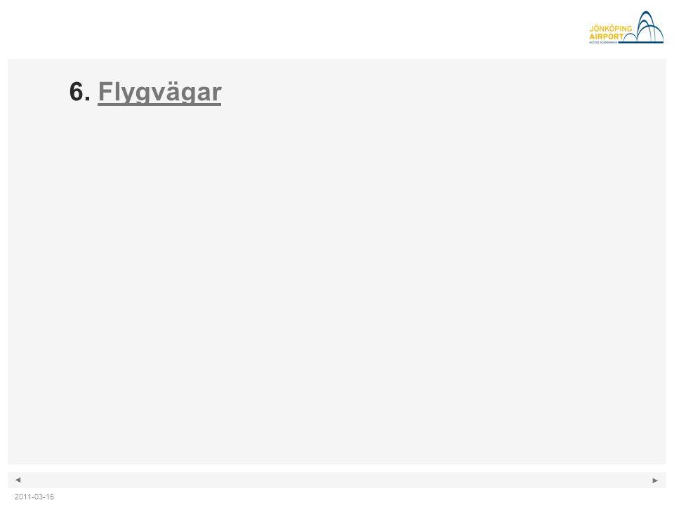 6. Flygvägar 2011-03-15