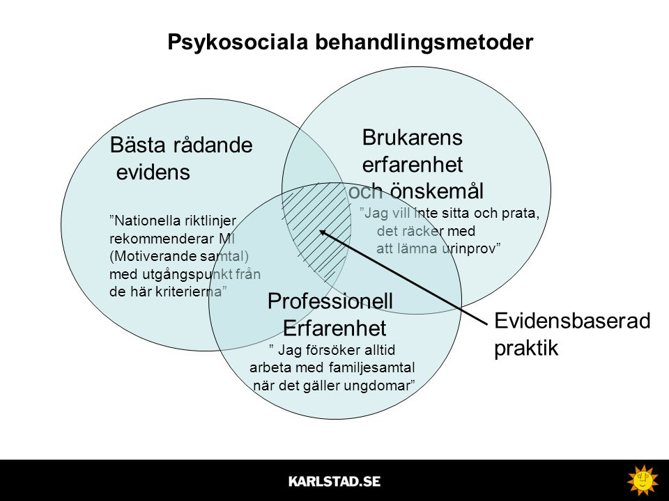 Psykosociala behandlingsmetoder