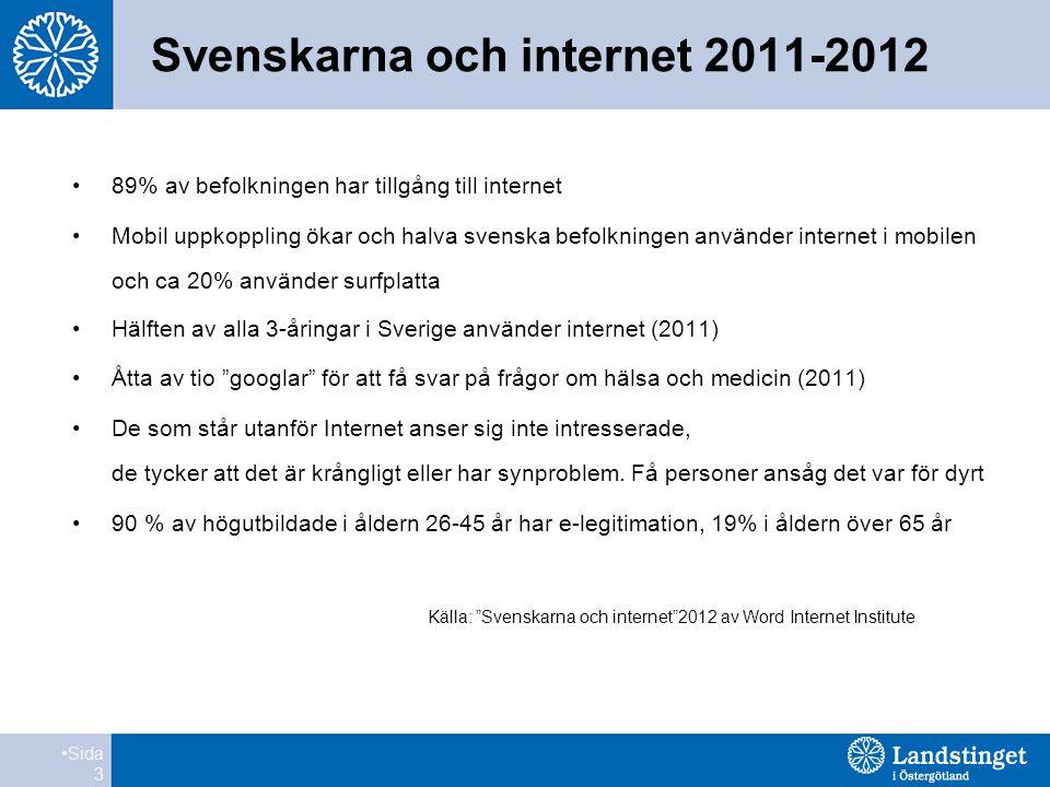 Svenskarna och internet 2011-2012