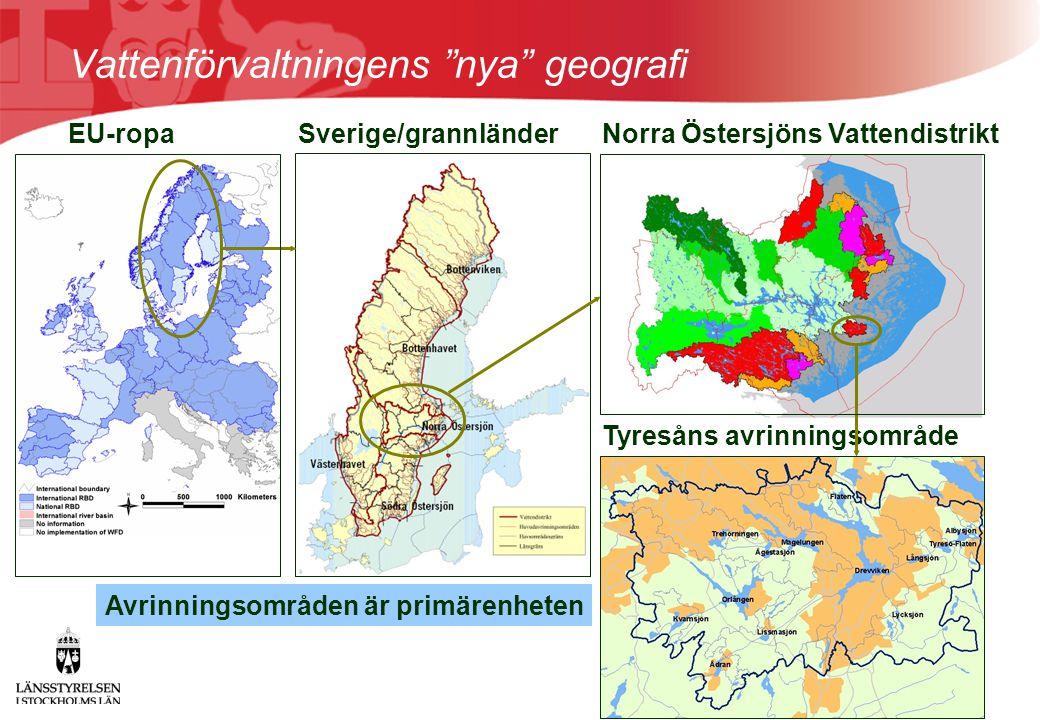 Norra Östersjöns Vattendistrikt Tyresåns avrinningsområde