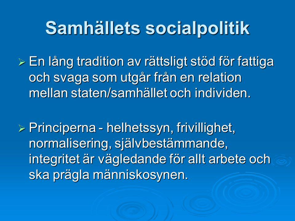 Samhällets socialpolitik