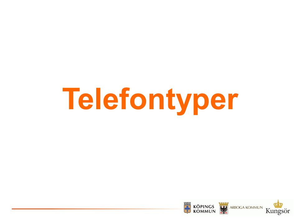 Telefontyper