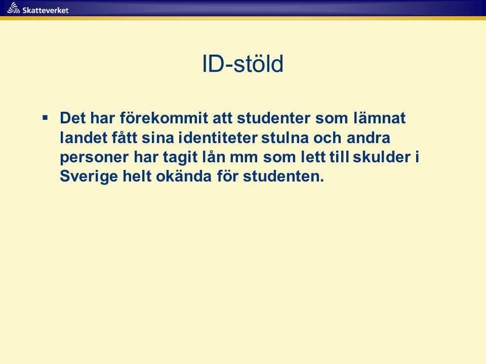 ID-stöld